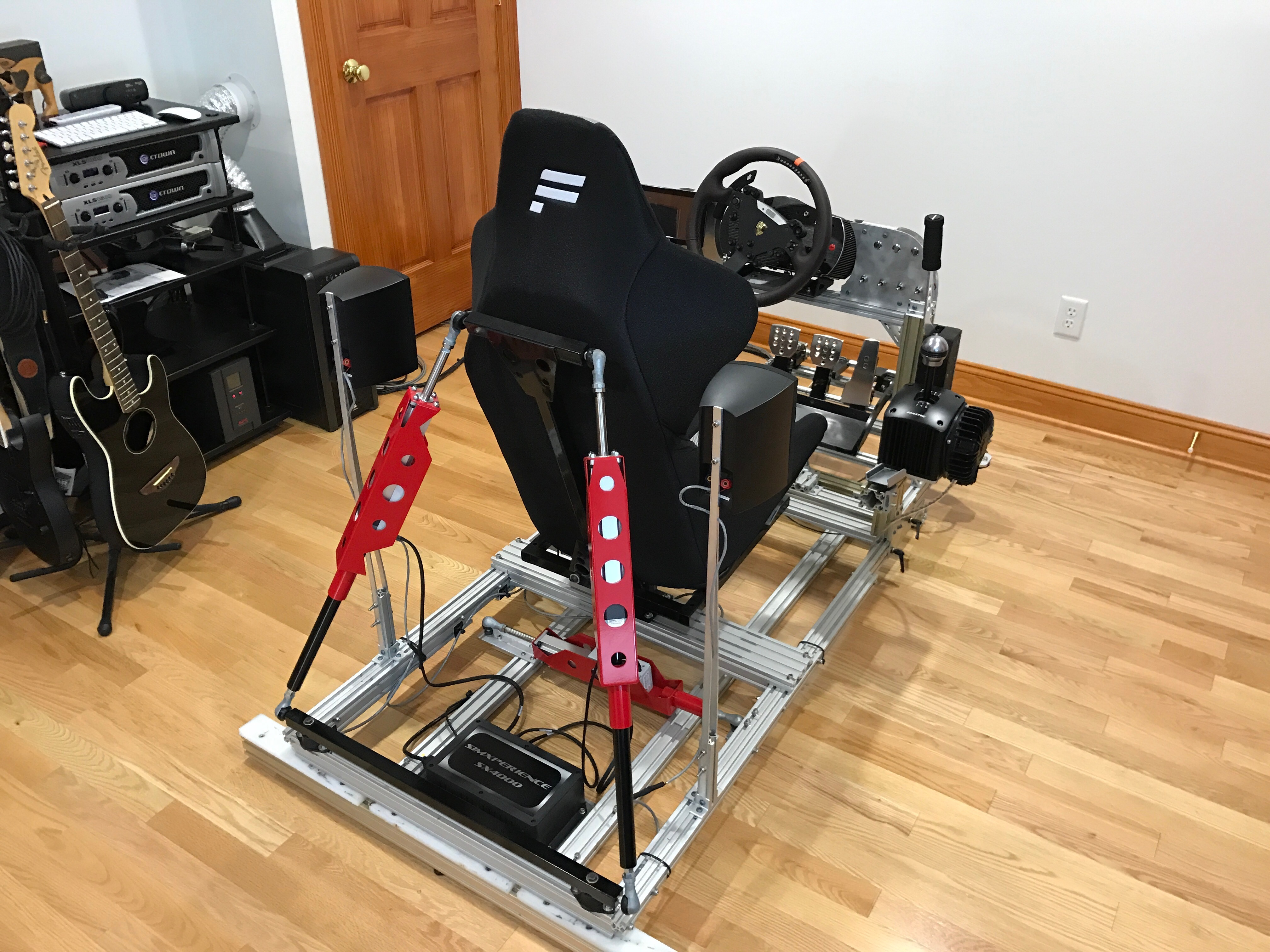 My sim racing motion rig version 2 | Daniel Chote's Project Blog