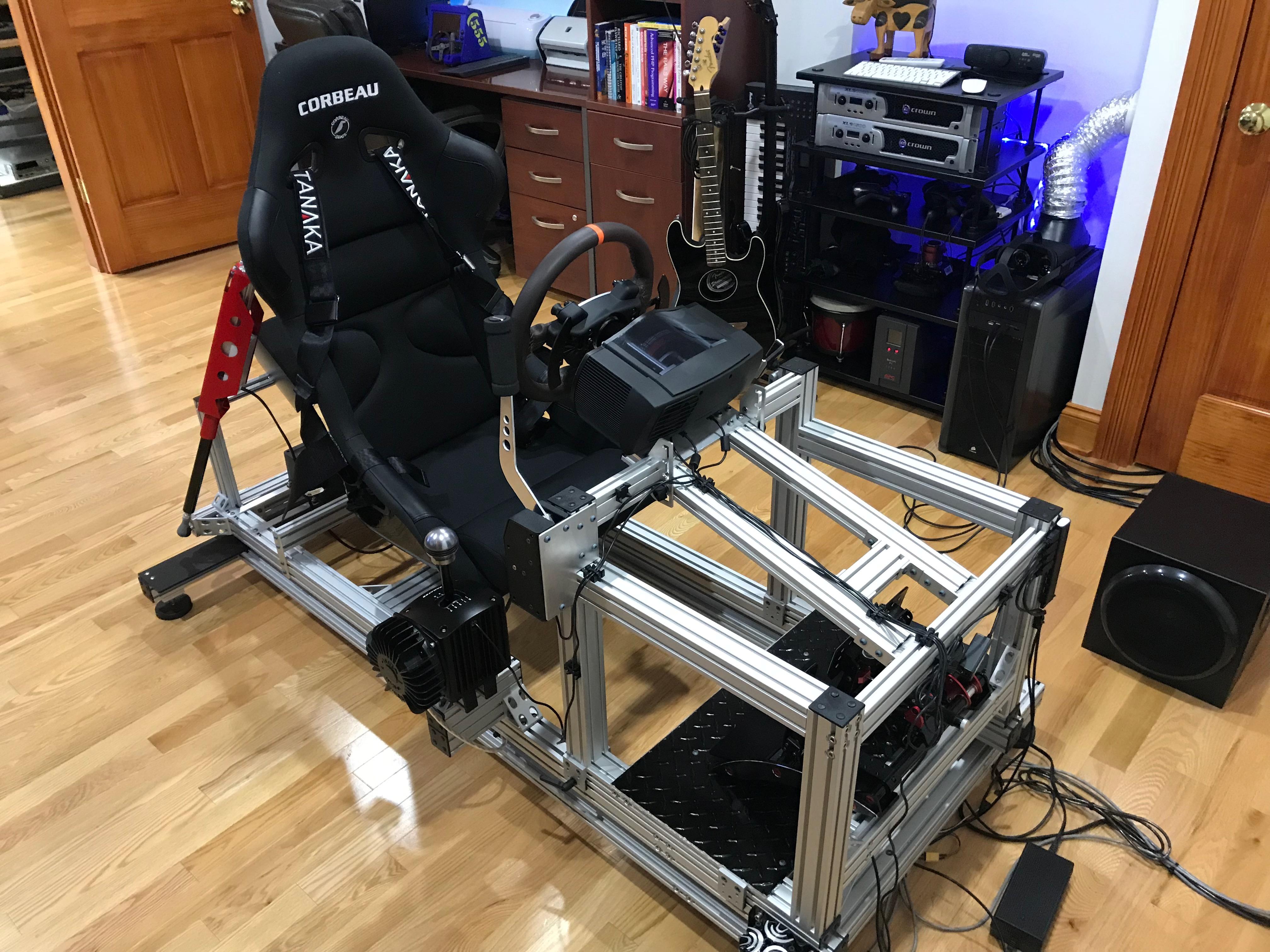 Sim Racing Motion Rig V2 Updates Daniel Chote S Project Blog
